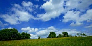 Trevligt landskap från Vijlenerberg Fotografering för Bildbyråer