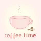 Trevligt morgonkaffe Arkivfoton