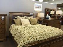 Trevligt sälja för sovrummöblemang royaltyfri fotografi