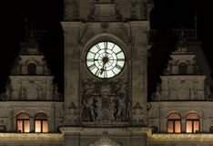 trevligt torn för klocka Royaltyfria Foton