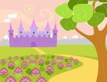 Trevo do castelo ilustração royalty free