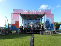 Trevor Hall plays Sound Check at Wanderlust Royalty Free Stock Photos