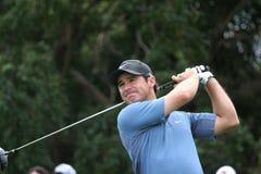Trevor Immelman, de winnaar van Meesters 2008 Stock Foto's