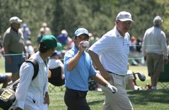 Trevor Immelman, Masters 2008 winner Royalty Free Stock Image
