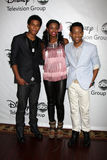 Trevor Jackson, Coco Jones, Tyler James Williams Stock Photos
