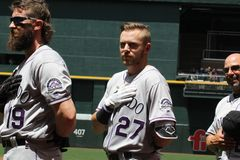Trevor Story Royalty Free Stock Photo