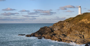 Trevose ead Lighthouse Royalty Free Stock Image