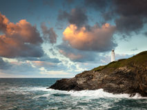 Trevose Head Cornwall Royalty Free Stock Photo