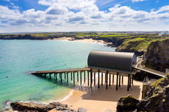 Trevose Head Lifeboat Station Cornwall Stock Photos