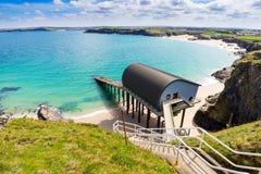 Trevose Head Lifeboat Station Cornwall Stock Photo