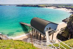 Trevose Head Lifeboat Station Cornwall Royalty Free Stock Images