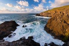 Trevose Kierowniczy Cornwall Fotografia Royalty Free