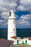Trevose-Kopf-Leuchtturm Cornwall Lizenzfreie Stockfotografie
