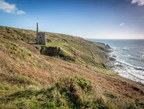Trewavas head near Rinsey cornwall england uk Stock Images
