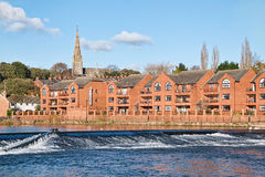 Trews Weir - Exeter Stock Images