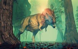 Trex dinosaur Stock Image