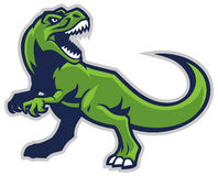 Trex mascot Royalty Free Stock Photography