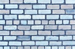 Trexture azul de la pared de ladrillo del color Imagenes de archivo