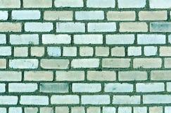 Trexture tonificado ciano da parede de tijolo imagem de stock royalty free
