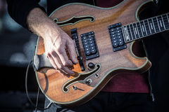 Trey Anastasio From das Band Phish Lizenzfreie Stockbilder