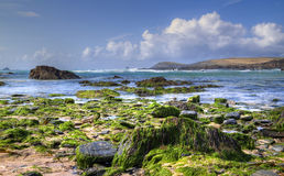 Treyarnon Bay, Cornwall Stock Photos