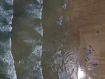 Treyarnon-Bucht stockbilder