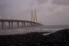 ½ treze do ¿ do ï da relação do mar de Bandra-Worli Fotos de Stock