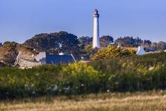 Trezien Lighthouse Royalty Free Stock Photo