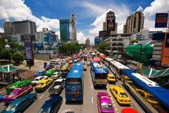 Tráfego asiático Fotografia de Stock