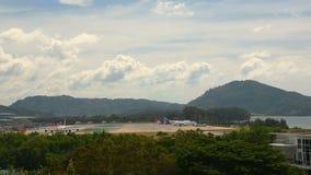 Tráfego do aeroporto internacional de Phuket filme