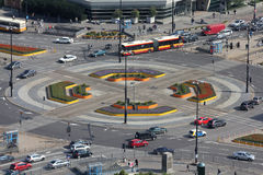 Tráfico de ciudad Imagen de archivo libre de regalías