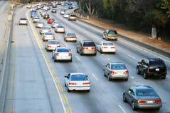 Tráfico de Los Ángeles Foto de archivo libre de regalías