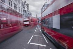 Tráfico en Londres Imagen de archivo libre de regalías