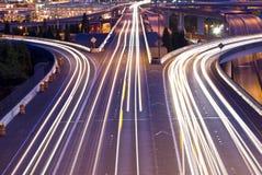 Tráfico I-90 Imagenes de archivo