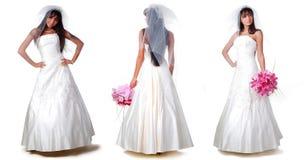 trhee de mariées Photographie stock libre de droits