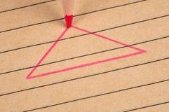 Triángulo. Fotografía de archivo libre de regalías