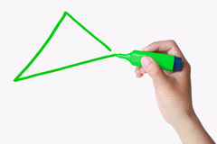Triángulo imagenes de archivo