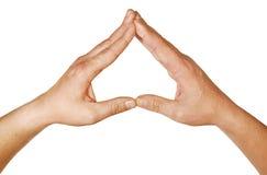 Triángulo Foto de archivo