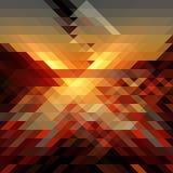 Triángulo abstracto bg48 Foto de archivo