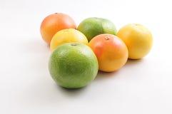 Triángulo del pomelo y del pomelo Fotografía de archivo libre de regalías