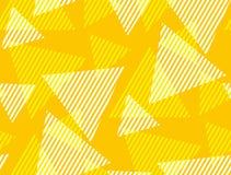 Triángulo dinámico geométrico abstracto y modelo inconsútil de la raya Fotografía de archivo libre de regalías