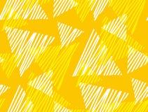 Triángulo dinámico geométrico abstracto y modelo inconsútil de la raya Imagen de archivo