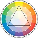 Triángulo espectral Foto de archivo