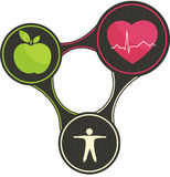 Triángulo sano del corazón libre illustration