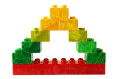 Triángulo verde Imagen de archivo libre de regalías