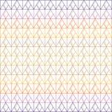 Triángulo y modelo inconsútiles del diamante de líneas multicoloras con la sombra gris en el fondo blanco; ejemplo del vector stock de ilustración