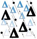 Triángulos ilustración del vector