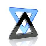 Triángulos stock de ilustración