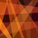 Triángulos abstractos simples del marrón del fondo Imagenes de archivo