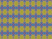 Triángulos azules Fotografía de archivo libre de regalías